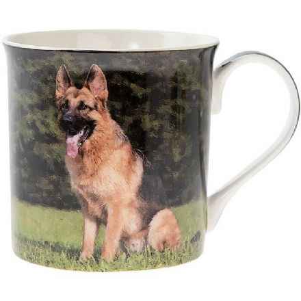 German Shepherd Fine China Mug